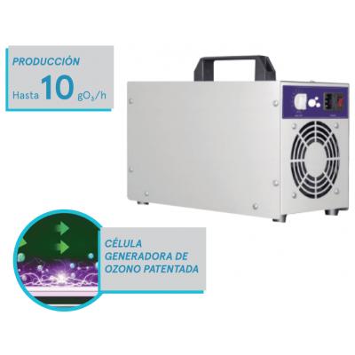 Cañón Generador de Ozono Portatil Ozonpure OP-10