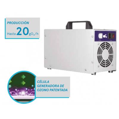 Cañón Generador de Ozono Portatil Ozonpure OP-20